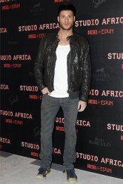 El actor José Lamuño en la fiesta Diesel 2013
