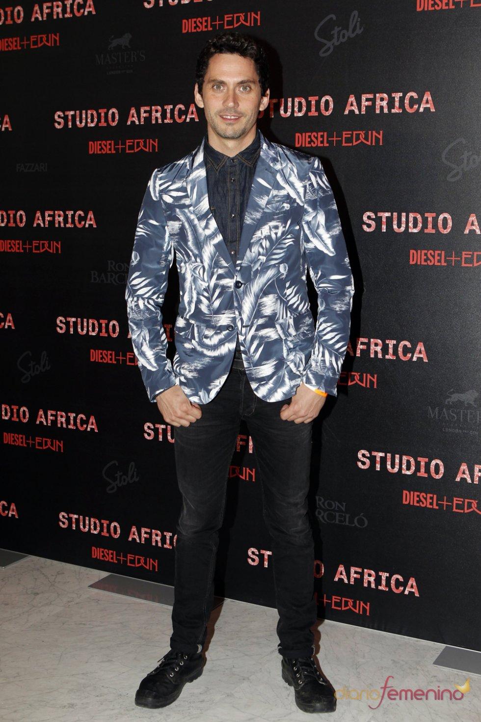 El actor Paco León en la fiesta Diesel 2013