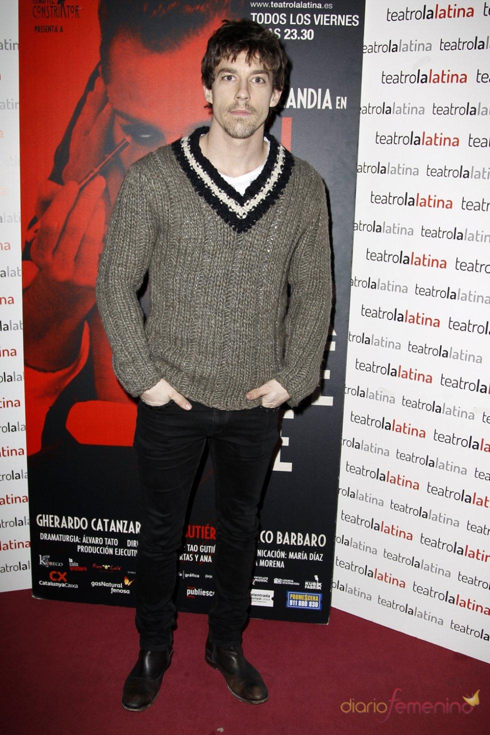 Adrián Lastra en el estreno de 'El Intérprete'