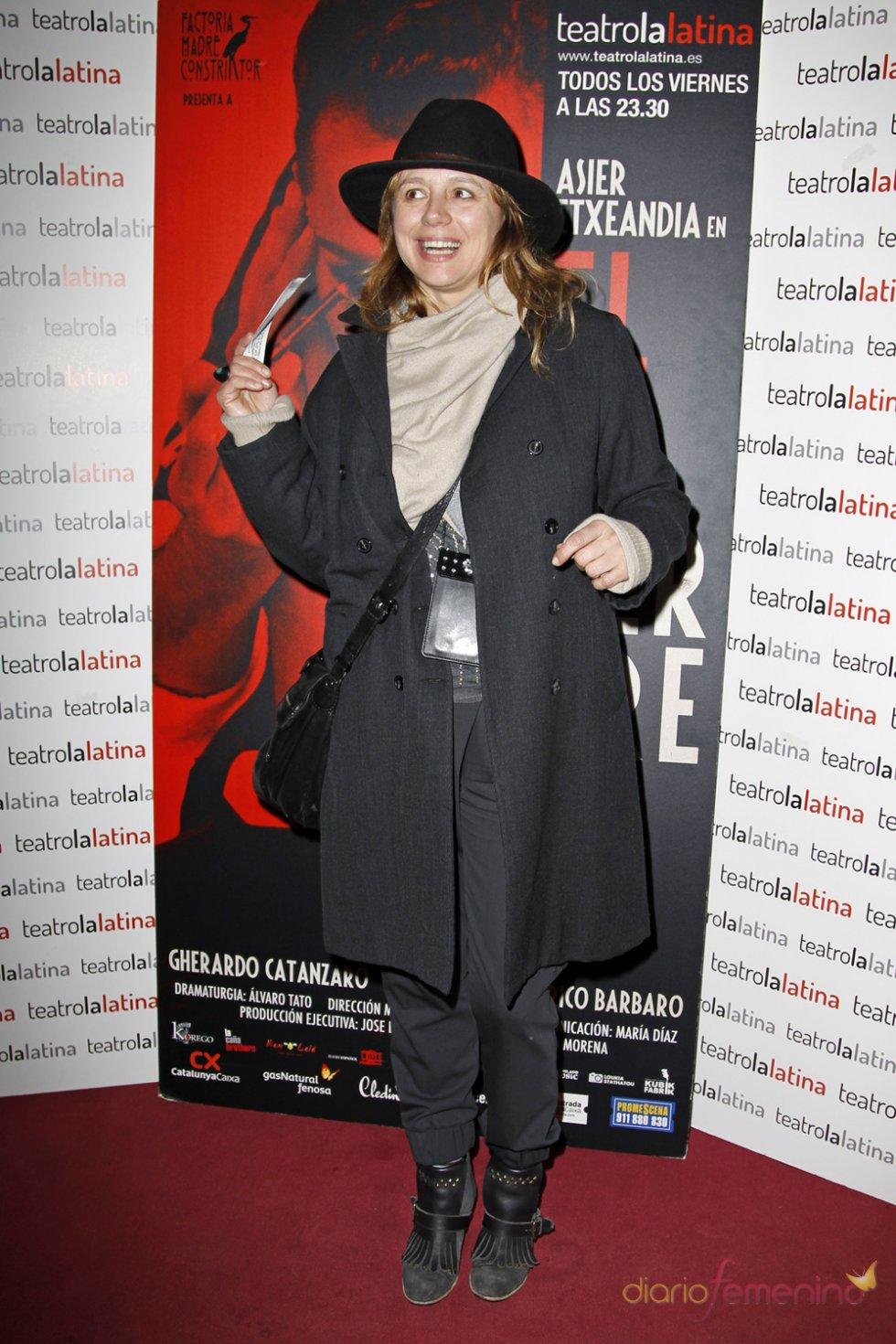 Emma Suárez en el estreno de 'El Intérprete'