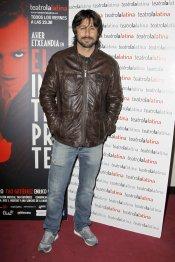 Hugo Silva en el estreno de 'El Intérprete'