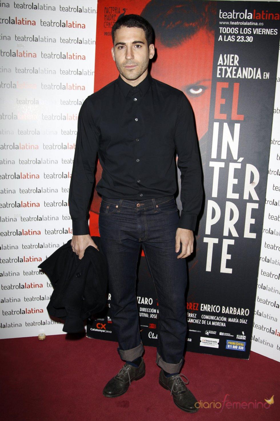 Miguel Ángel Silvestre en el estreno de 'El Intérprete'
