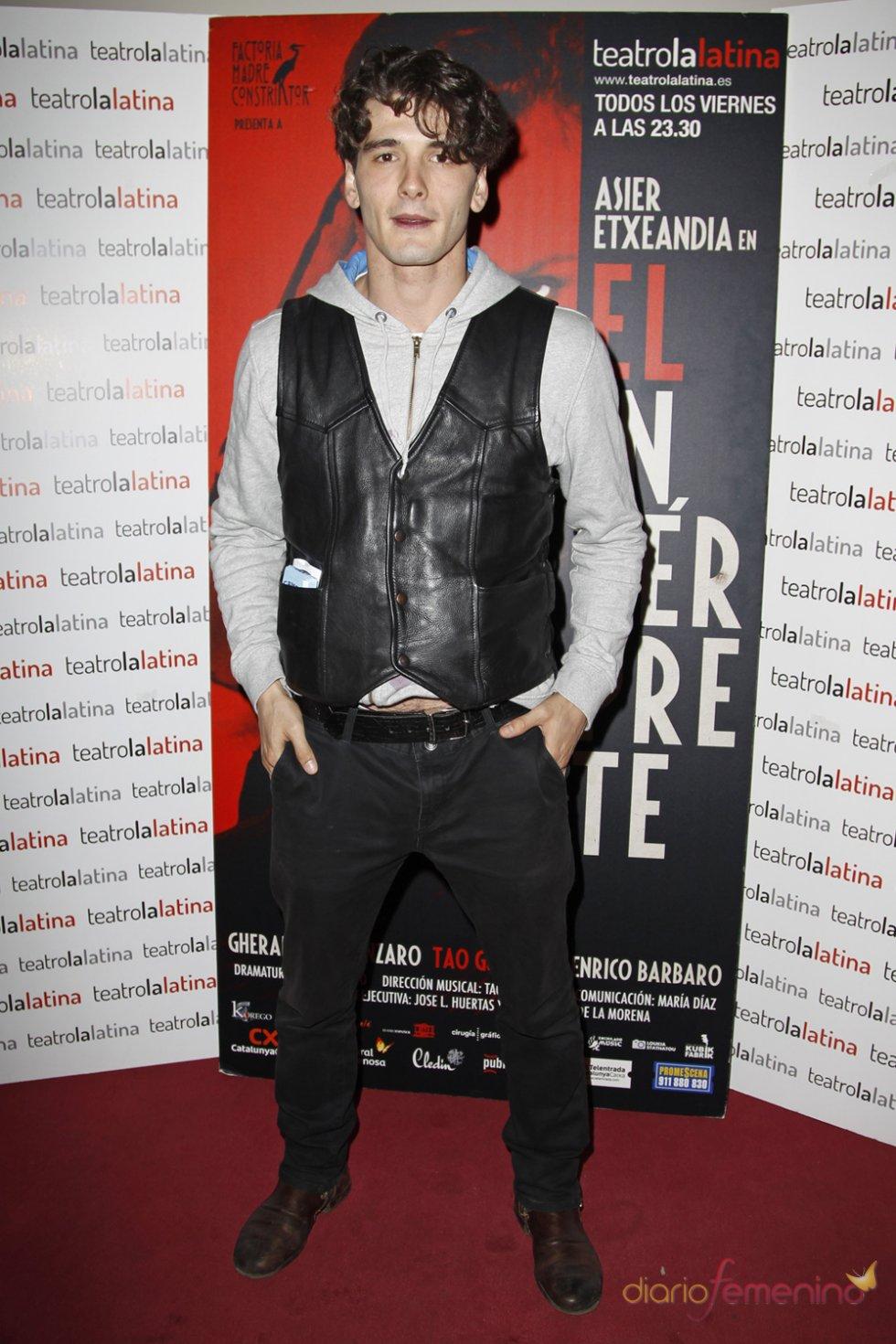 Yon González en el estreno de 'El Intérprete'