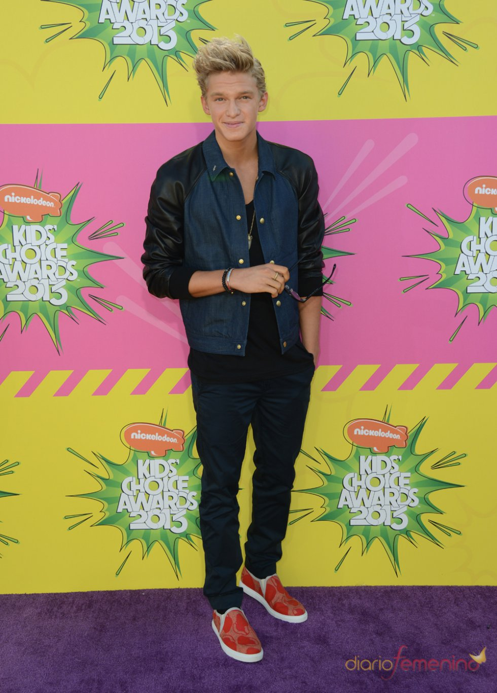 Cody Simpson en los Kids' Choice Awards 2013