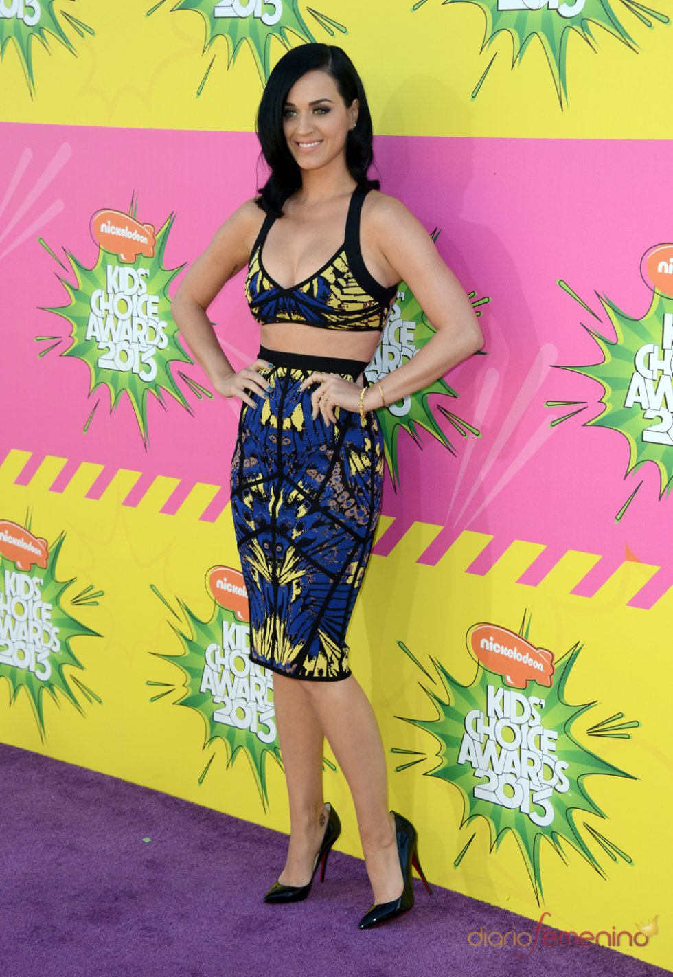 Katy Perry en los Kids' Choice Awards 2013