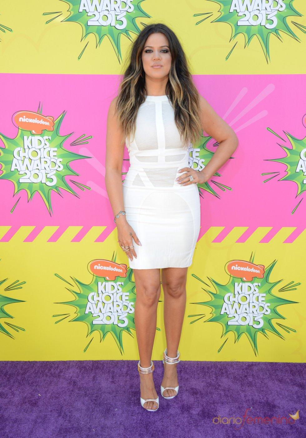 Khloé Kardashian en los Kids' Choice Awards 2013