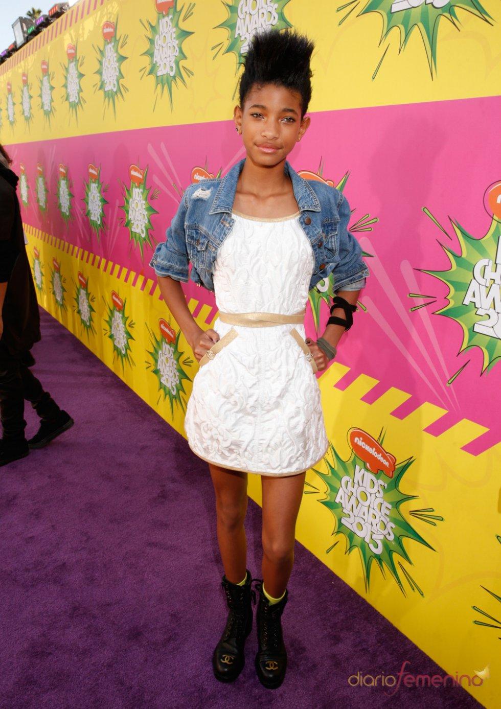 Willow Smith en los Kids' Choice Awards 2013