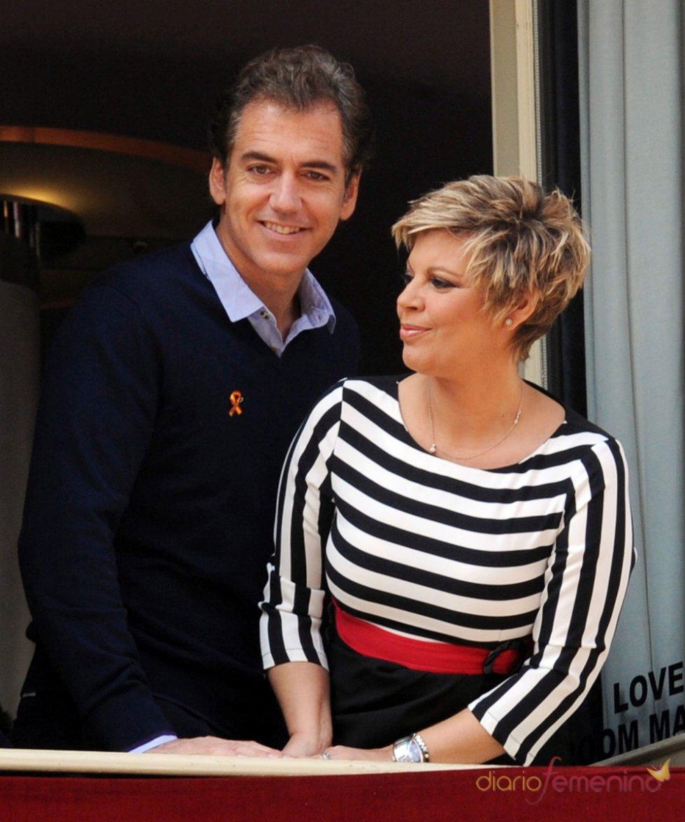Famosos en la Semana Santa 2013: Terelu Campos y su novio