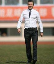 David Beckham: máxima elegancia en su look