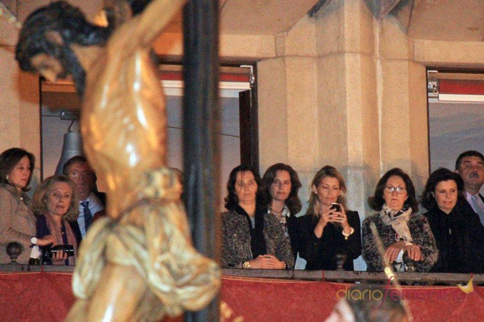 Patricia Rato en la Semana Santa de Sevilla 2013