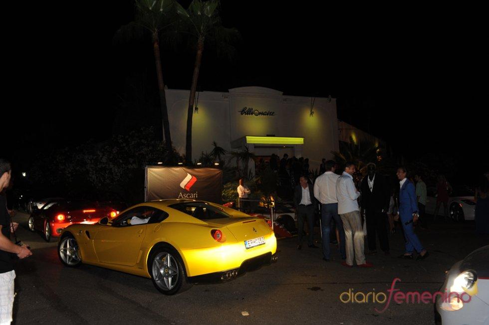 Flavio Briatore inaugura su discoteca 'Billionaire'