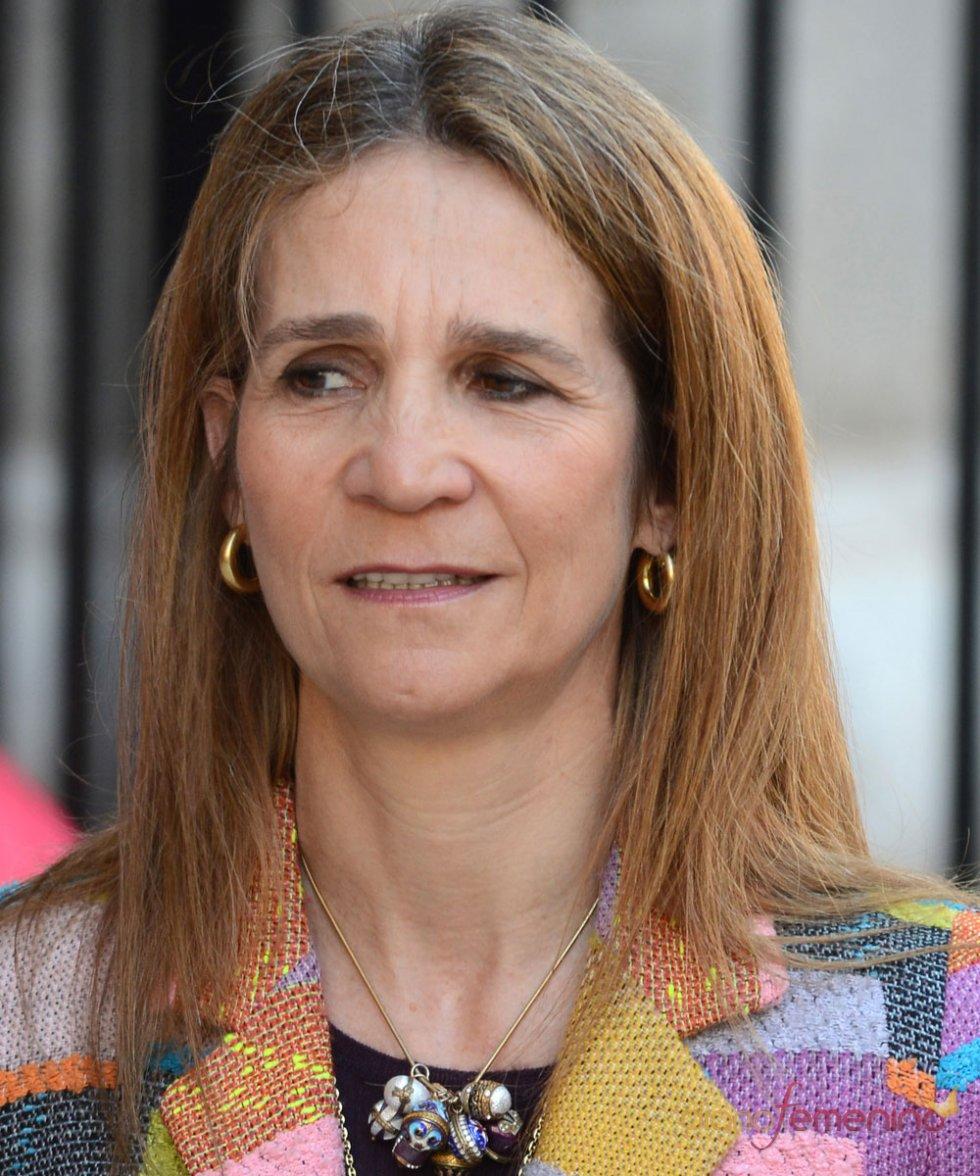La Infanta Elena, en la Pascua de la Semana Santa 2013.