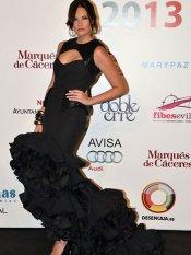 Los looks de las famosas en la Feria de Abril: Jessica Bueno
