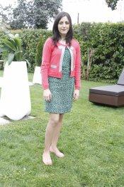 Ruth Núñez en la presentación de la segunda temporada de 'Frágiles'