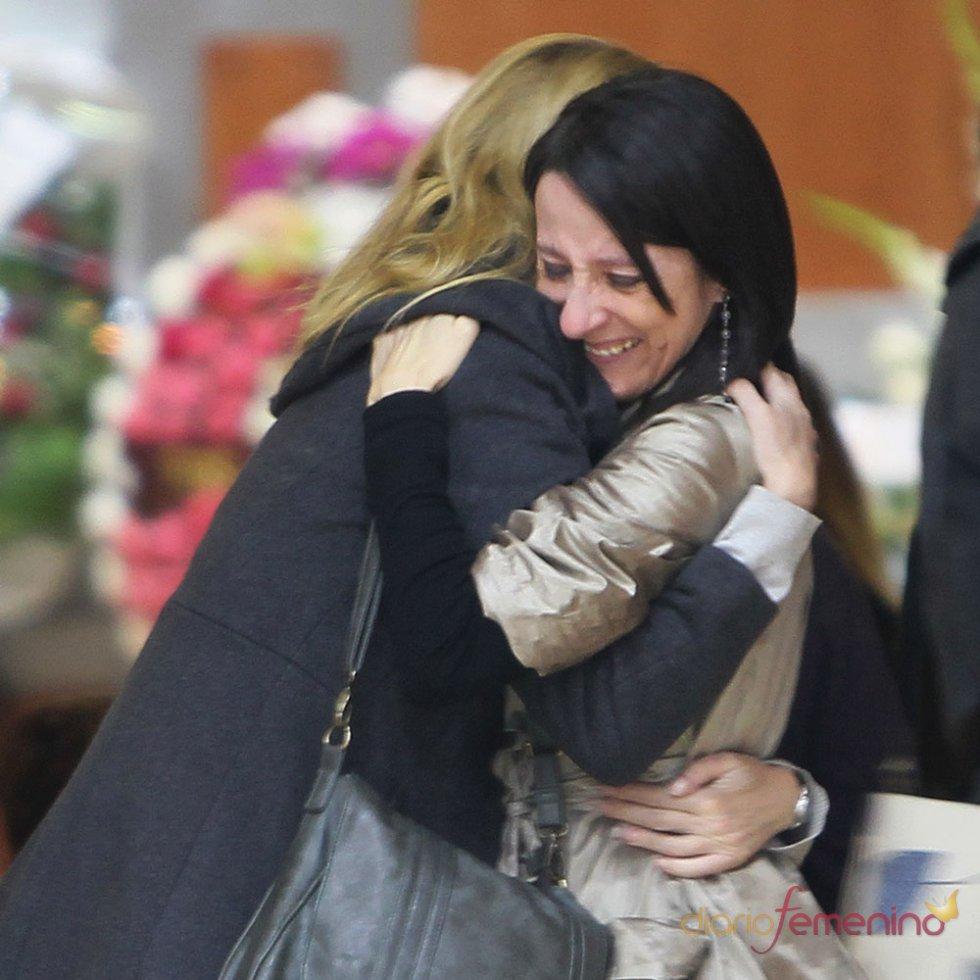 Funeral de Mariví Bilbao: mucho dolor de su familia