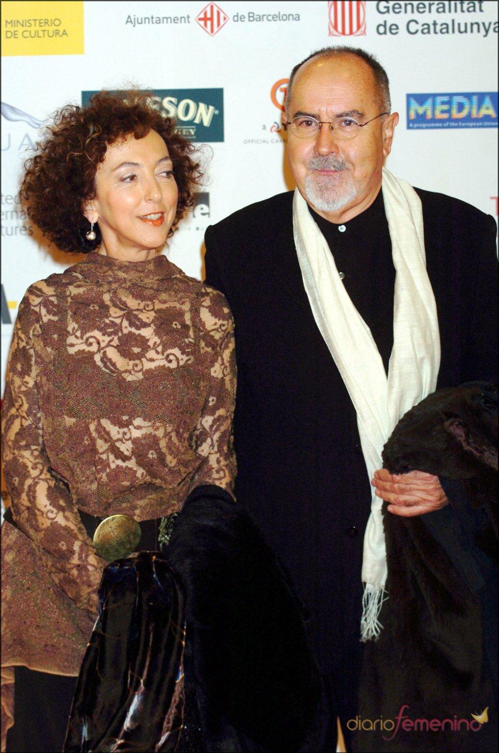 Bigas Luna en los Premios de Cine Europeo en Barcelona