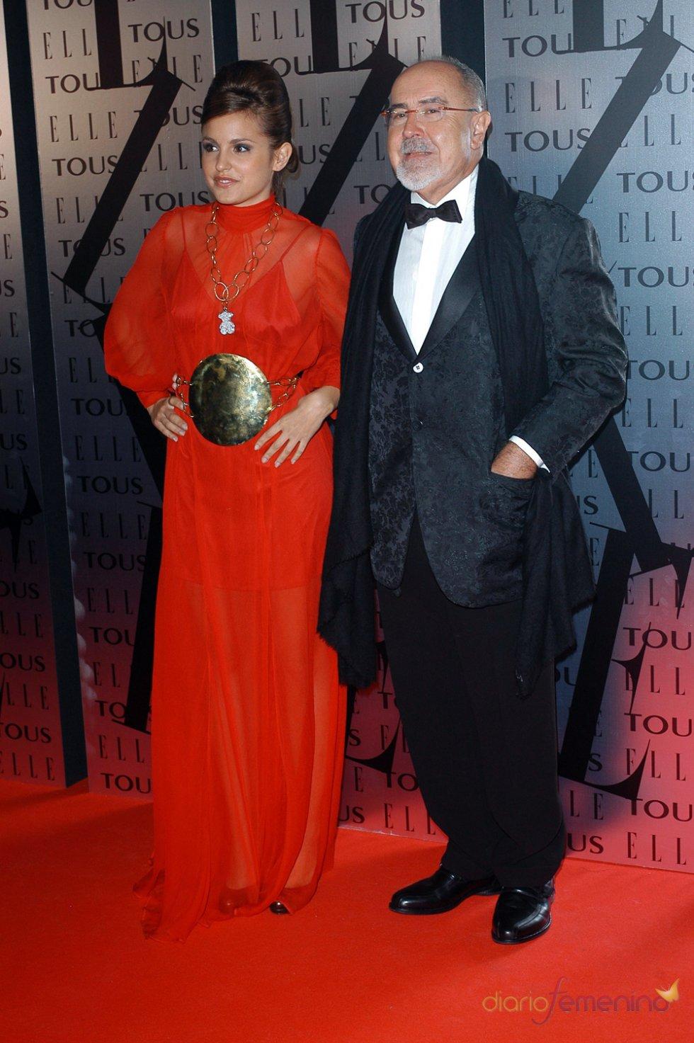 Bigas Luna y Verónica Echegui en los premios Elle 2006