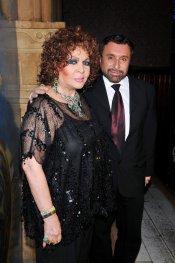 Sara Montiel junto al periodista y amigo Jose Manuel Parada