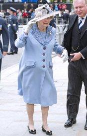 Una de las últimas fotos a Margaret Thatcher