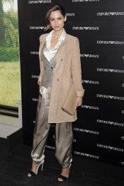 Ariadne Artiles en la inauguración de la tienda Emporio Armani en Madrid