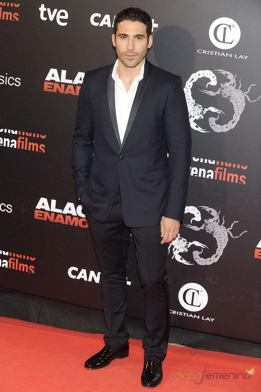 Miguel Ángel Silvestre, uno de los protagonistas de 'Alacrán enamorado'
