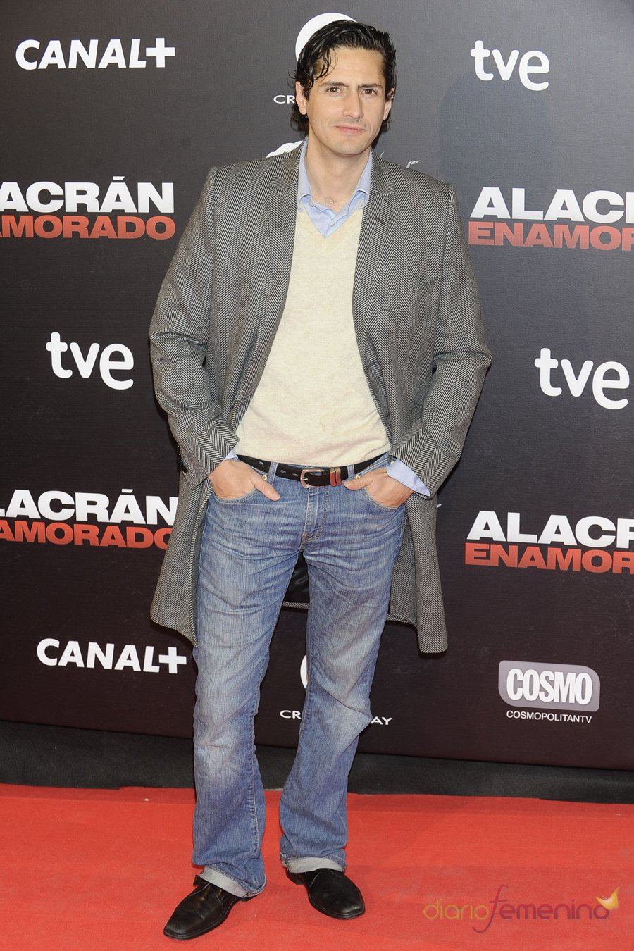 Juan Diego Botto en la premiere de 'Alacrán enamorado'