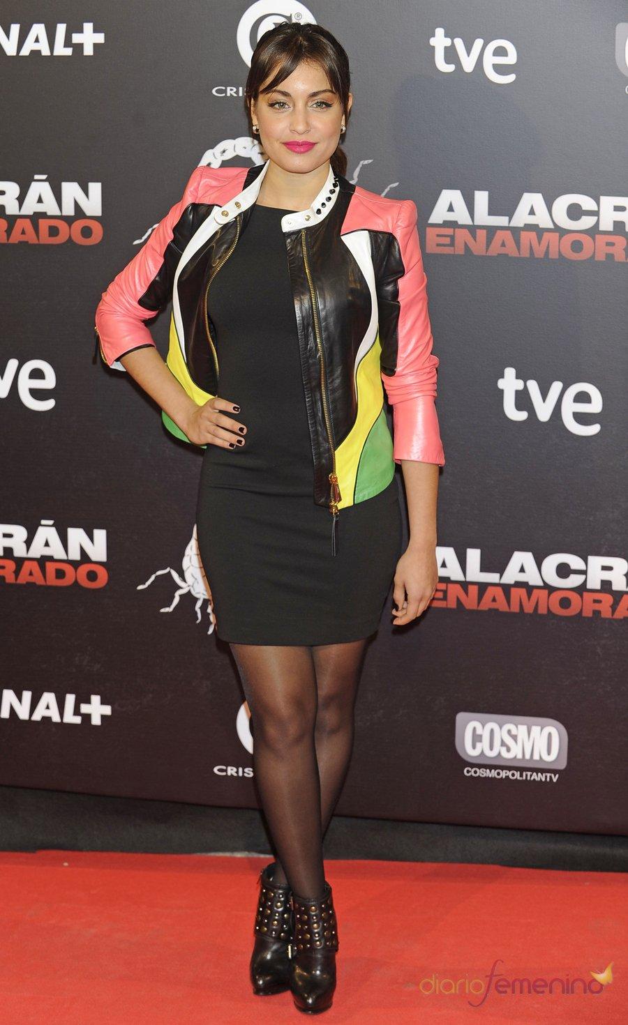 El look de Hiba Abouk en la premiere de 'Alacrán enamorado'