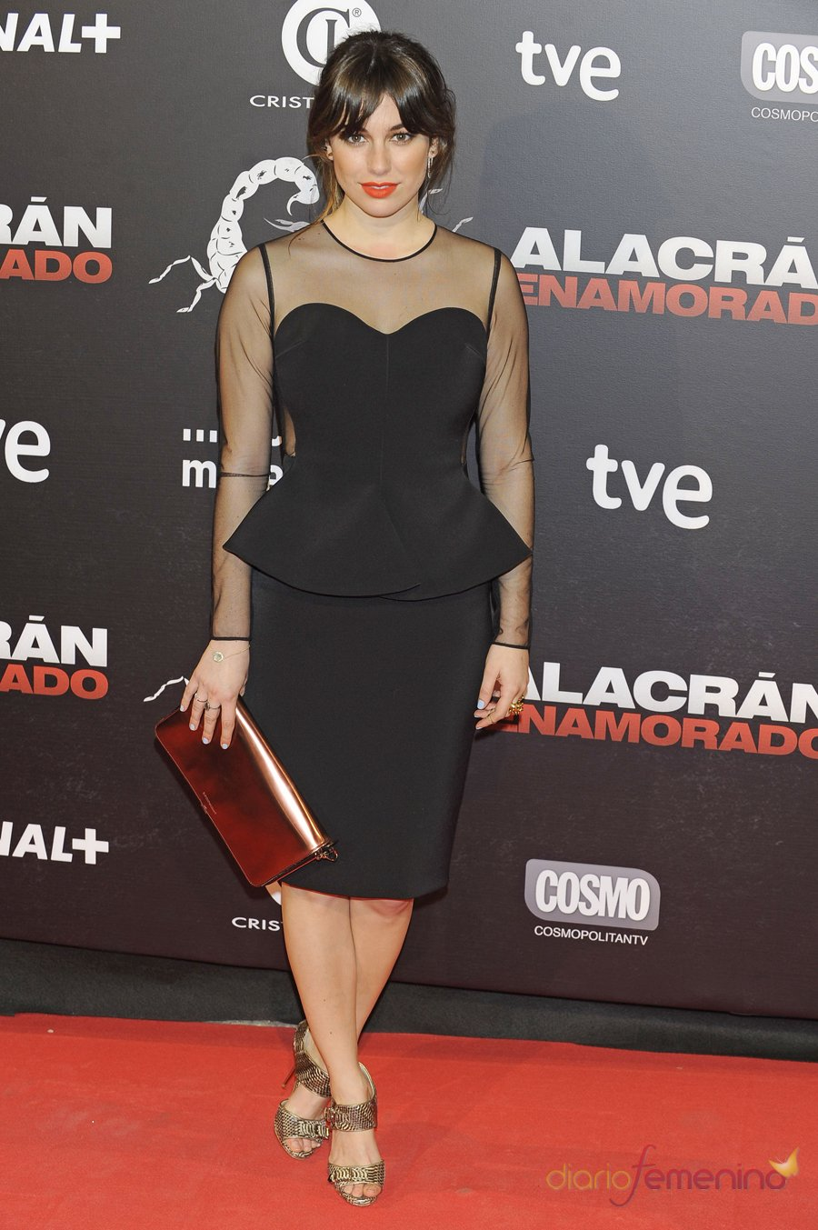 El look de Blanca Suárez en la premiere de 'Alacrán enamorado'