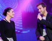 Pablo Alborán y su primera chica (musical): Carminho