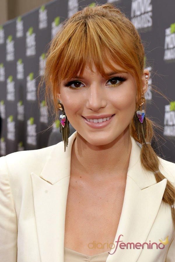 Bella Thorne en los MTV Movie Awards 2013