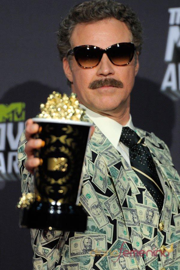 Will Ferrell en los MTV Movie Awards
