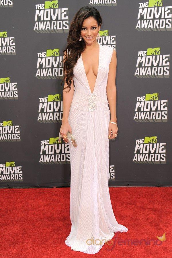 Melani Iglesias, el mayor escote de los MTV Movie Awards