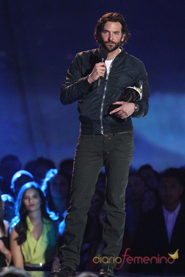 Bradley Cooper en los MTV Movie Awards 2013