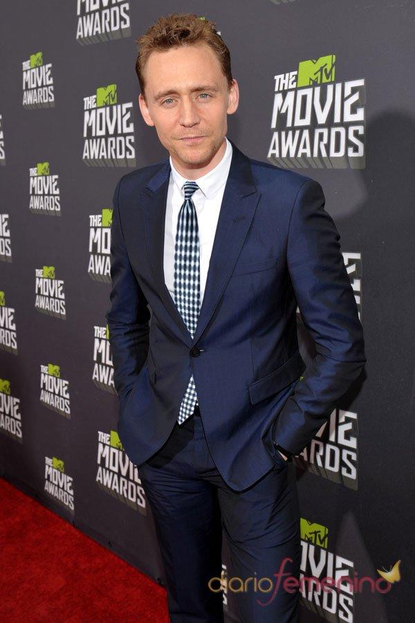 Tom Hiddleston en los MTV Movie Awards