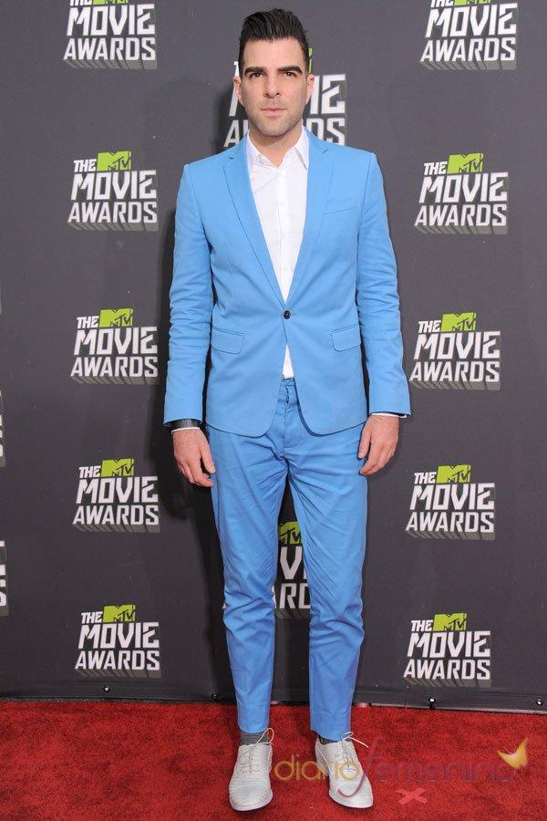 Zachary Quinto en los MTV Movie Awards 2013