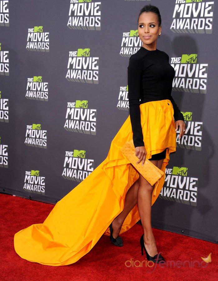 Kerry Washington en los MTV Movie Awards 2013