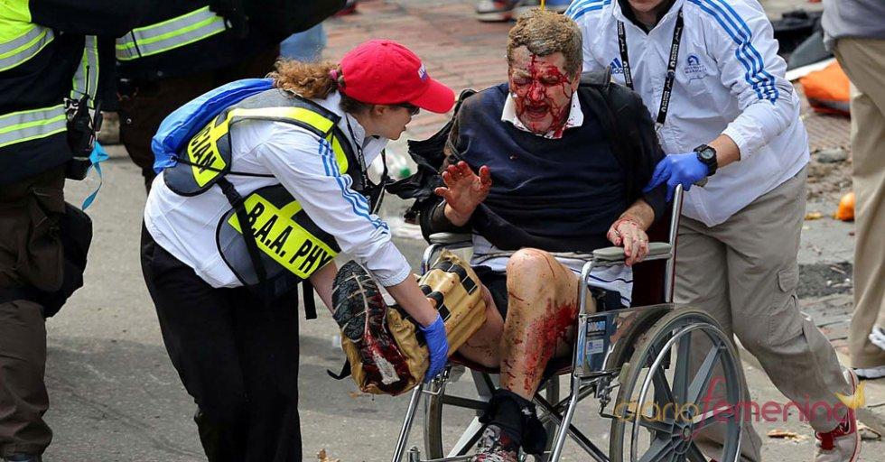 Varias personas perdieron las piernas en el atentado de Boston