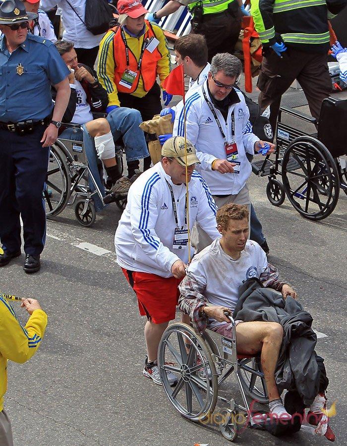Ola de heridos en el Maratón de Bostón