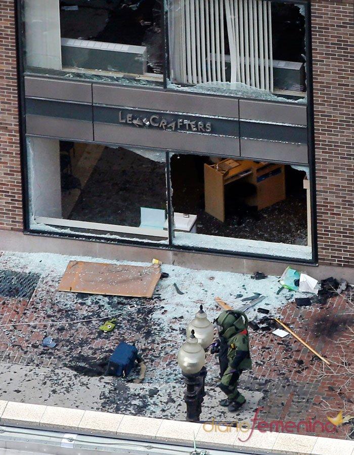Los daños materiales del atentado de Boston