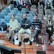 Pantoja en el juzgado con Muñoz con Zaldívar