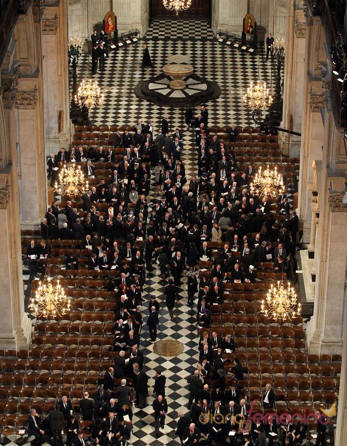 Funeral de Margaret Thatcher: ceremonia religiosa