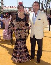 Raquel Revuelta y El Tato, siempre con la Feria de Abril
