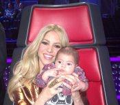 Shakira presentó a Milan en el programa 'The Voice', versión de La Voz en Estados Unidos