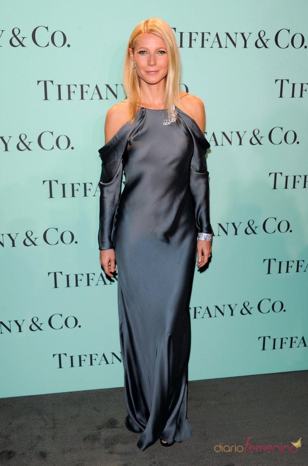 Gwyneth Paltrow en la fiesta Blue Book Ball de Tiffany