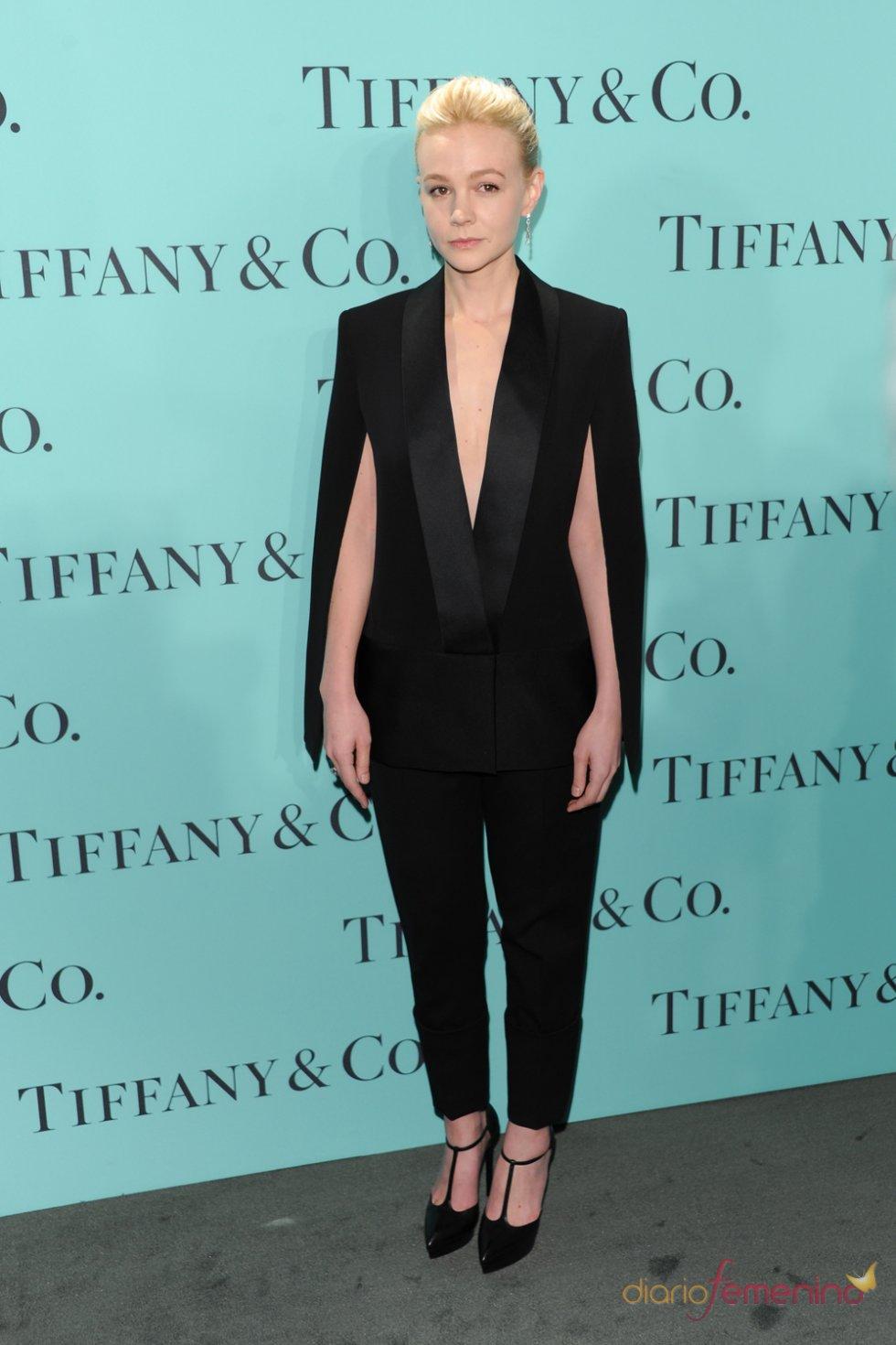 Carey Mulligan en la fiesta Blue Book Ball de Tiffany