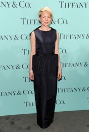Michelle Williams en la fiesta Blue Book Ball de Tiffany
