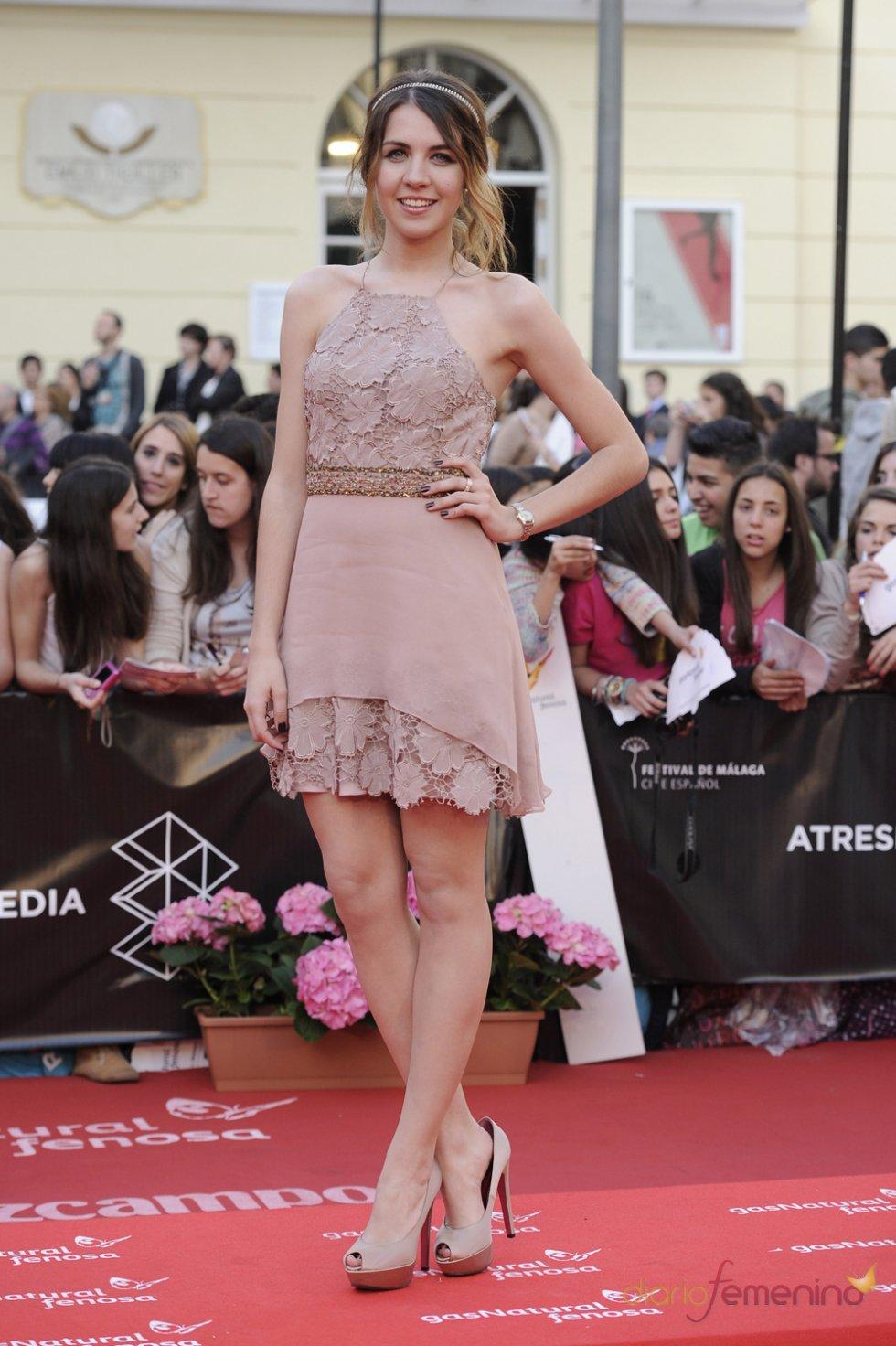 Andrea Guash en el Festival de Málaga de Cine Español