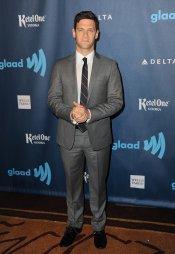 El actor Justin Bartha, protagonista de 'The New Normal', en los premios Glaad 2013