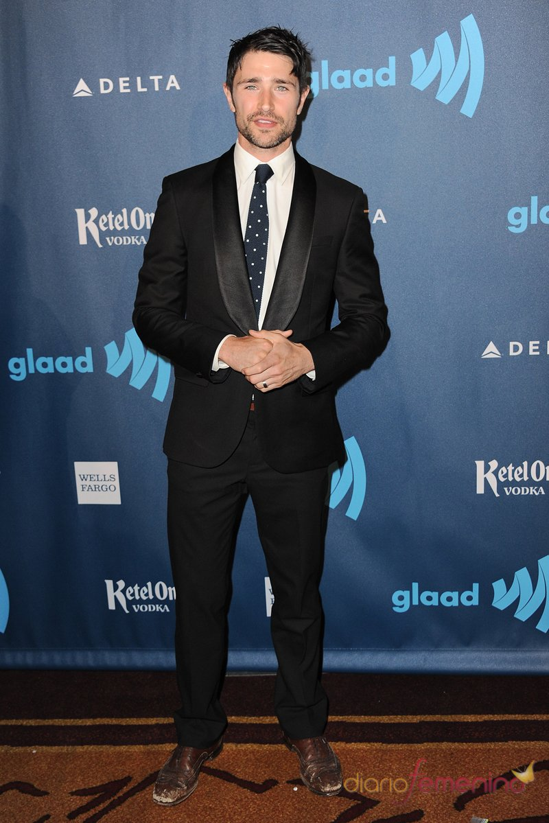 El actor Matt Dallas en los premios Glaad 2013
