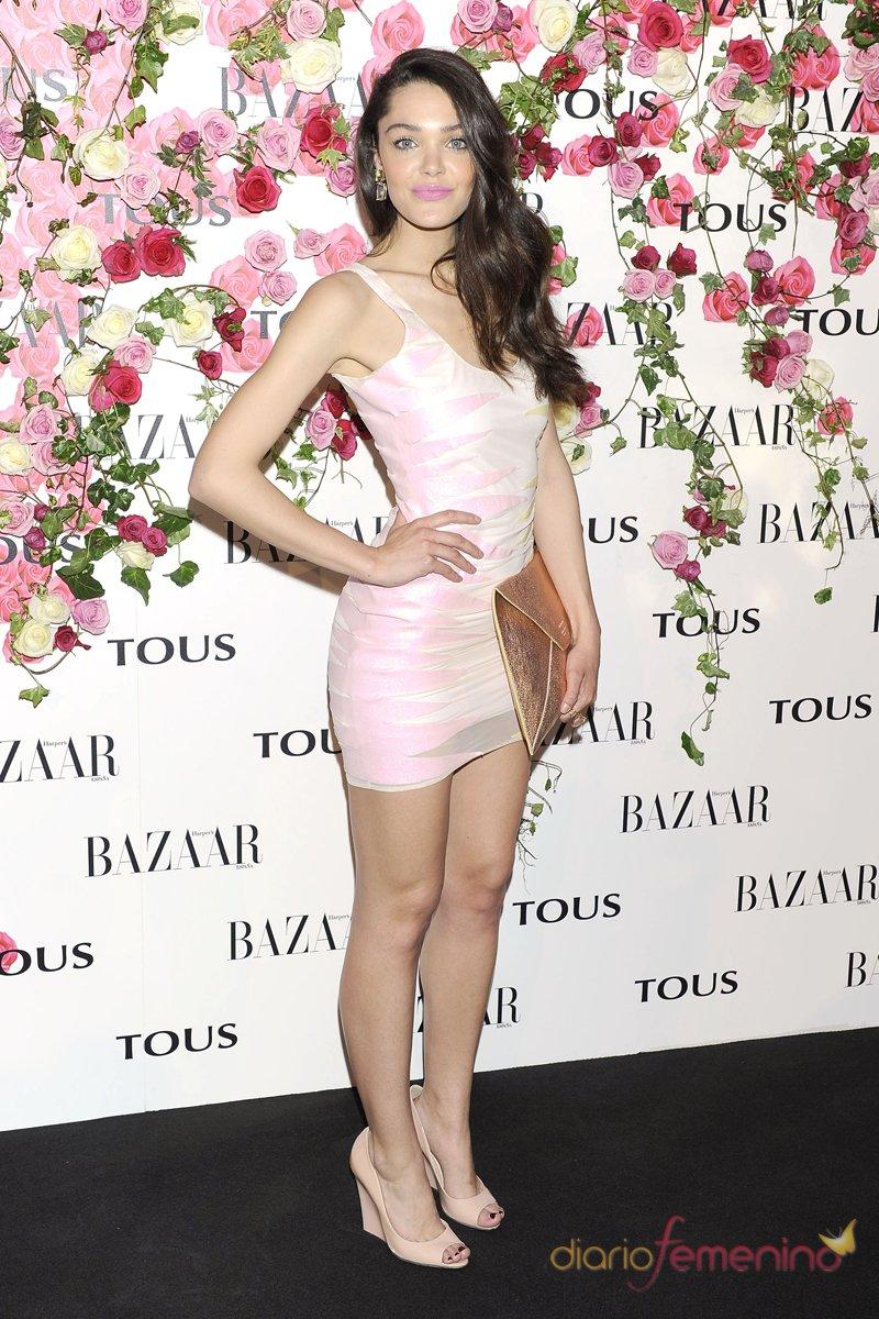 Ana Rujas durante la presentación del perfume de Tous, Rosa